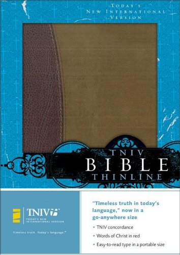 9780310924050: TNIV Thinline Bible: Burgundy/Pecan European Leather (Today's New International Version)