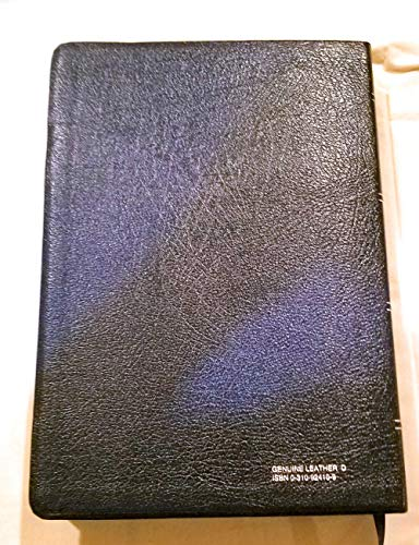 9780310924180: The Quest Study Bible: New International Version/Navy Top-Grain Leather