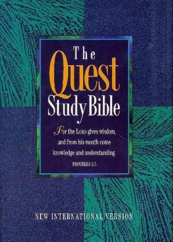 The Quest Study Bible New International Version: Anonymous