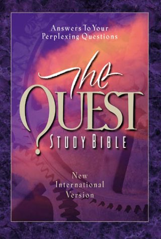 9780310924432: Quest Study Bible, The, Indexed