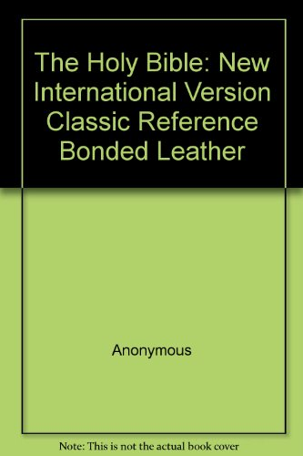 9780310925248: New International Version Classic Reference Bonded Leather Eggplant