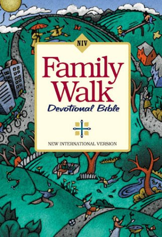 9780310925477: Family Walk Devotional Bible