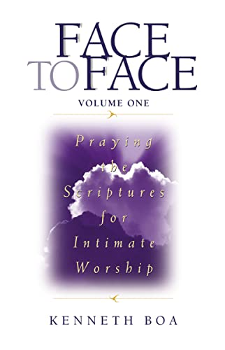9780310925507: Face to Face: Praying the Scriptures for Intimate Worship