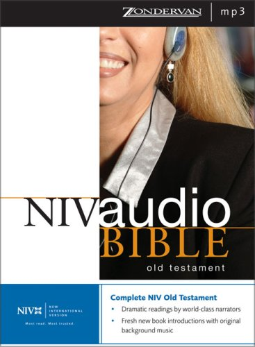 9780310925644: NIV Dramatized Audio Old Testament: Unabridged
