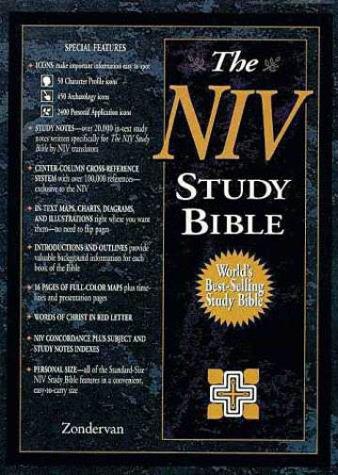 9780310925699: The NIV Study Bible: New International Version