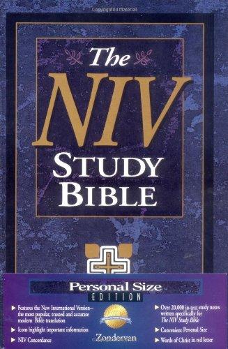 9780310925897: NIV Study Bible, Personal Size