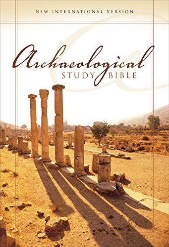 9780310926054: Niv Archaeological Study Bible: An Illustrated Walk Through Biblical History and Culture