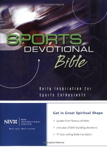 9780310926122: Sports Devotional Bible: Daily Inspirations for Sports Enthusiasts
