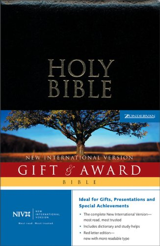 9780310926160: Holy Bible Gift & Award: New International Version : Black Leather