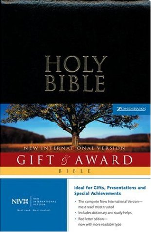9780310926177: Holy Bible Gift & Award: Niv : Royal Blue Leather