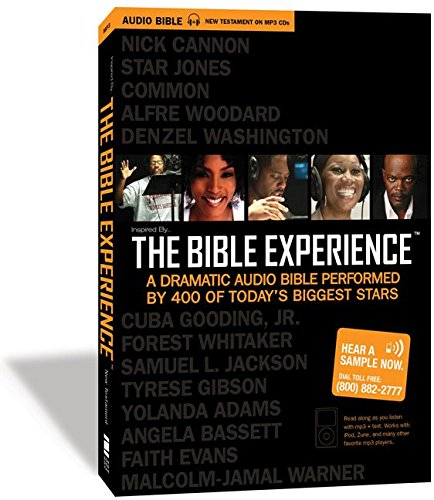 9780310926337: Inspired By . . . The Bible Experience: New Testament: A Dramatic Audio Bible Performed by 400 of Today's Biggest Stars