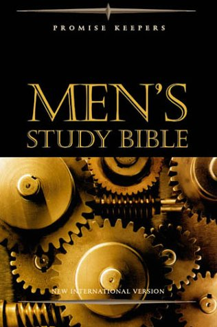 9780310926887: NIV Promise Keepers Men's Study Bible - Burgundy Bonded Leather Indexed