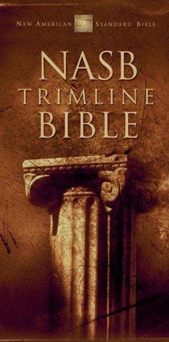 NASB Trimline Bible: Zondervan