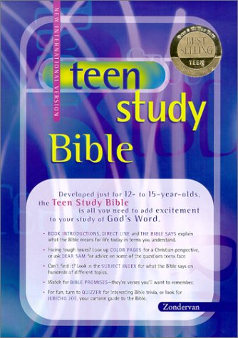 9780310927112: Teen Study Bible, Revised