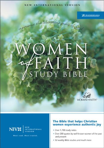 9780310927143: Women of Faith Study Bible: New International Verison, Black Bonded Leather