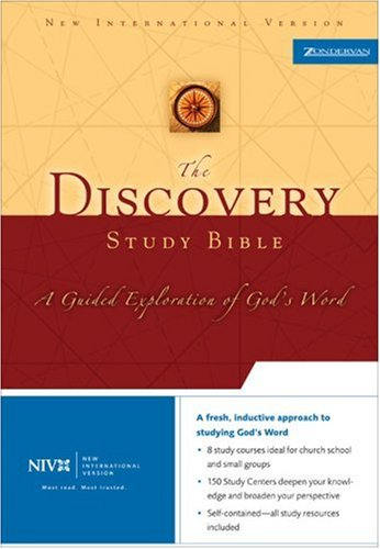 9780310927167: The Discovery Study Bible: A Guided Exploration of God's Word