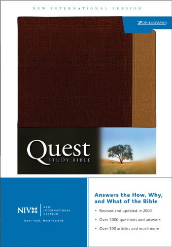 9780310927358: Quest Study Bible, Personal Size (New International Version)