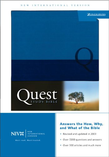 9780310927365: Quest Study Bible-NIV-Personal Size (New International Version)
