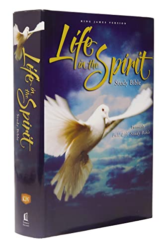 9780310927570: KJV, Life in the Spirit Study Bible, Hardcover, Red Letter Edition: Formerly Full Life Study