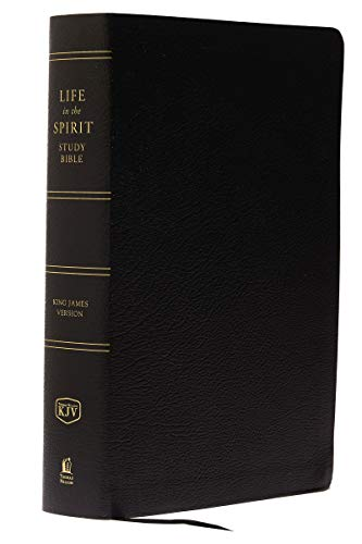 9780310927587: Life in the Spirit Study Bible: King James Version, Black Bonded Leather