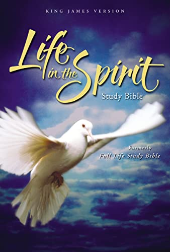9780310927617: Life in the Spirit Study Bible: King James Version, Green Leather, Black Top