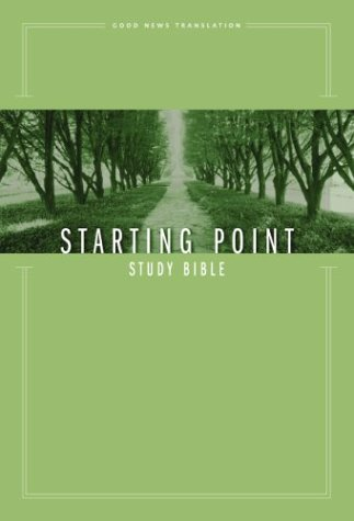9780310927792: GNT Starting Point Study Bible