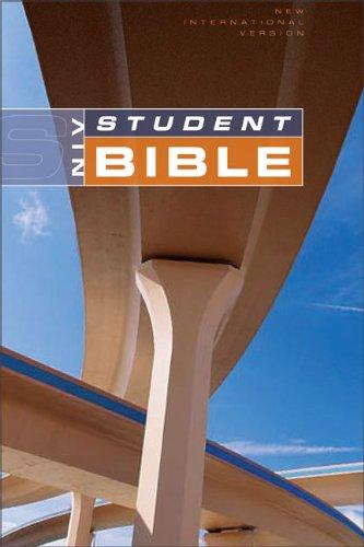 NIV Student Bible, Revised - Black Bonded Leather 1984