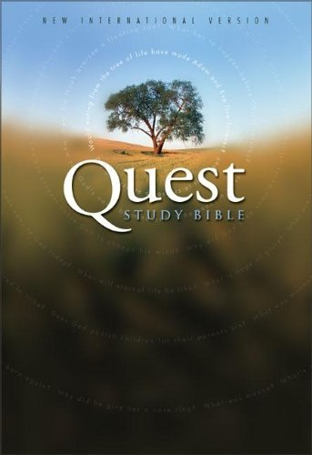 9780310928119: Quest Study Bible: New International Version, Burgundy Bonded Leather
