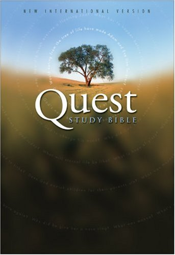 9780310928133: NIV Quest Study Bible, Revised, Indexed