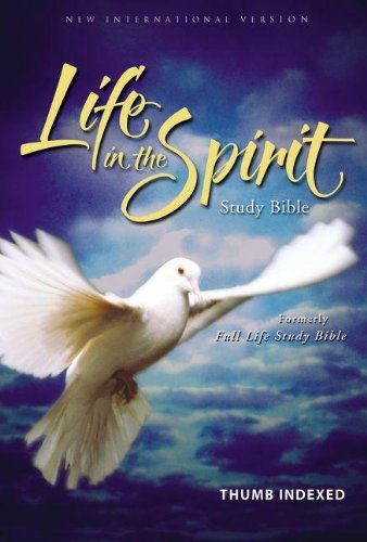 9780310928270: NIV Life In the Spirit Study Bible, Indexed