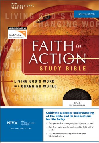 Faith in Action Study Bible: Living God's: Terry C. Muck