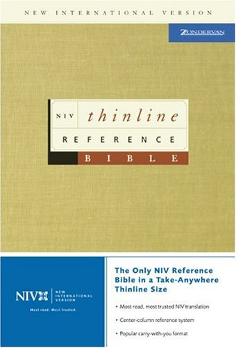 9780310928706: NIV Thinline Reference Bible