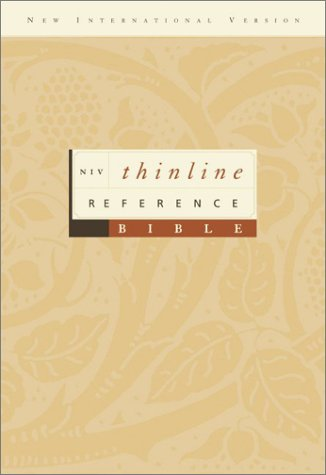 9780310928744: NIV Thinline Reference Bible