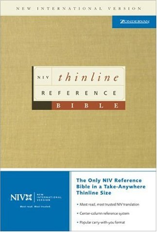 NIV Thinline Reference Bible (0310928753) by Zondervan