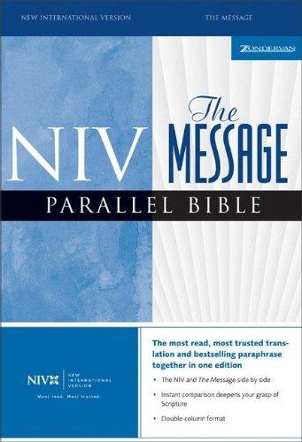 9780310928898: NIV/The Message Parallel Bible (New International Version)