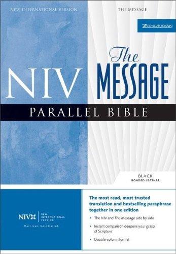 9780310928904: NIV/the Message Parallel Bible (New International Version)
