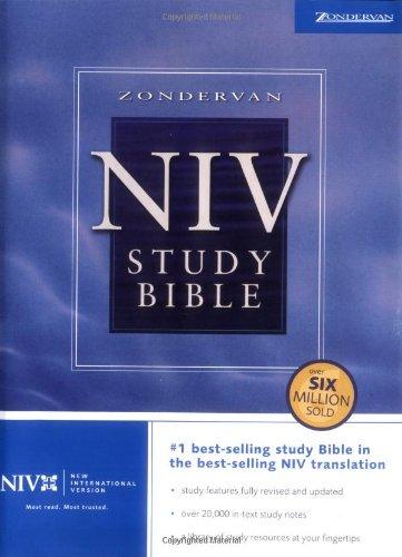 9780310929550: Zondervan NIV Study Bible