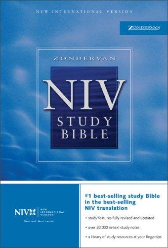 9780310929598: Zondervan NIV Study Bible