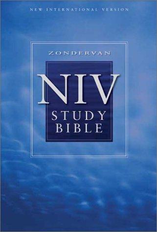 9780310929628: Zondervan NIV Study Bible