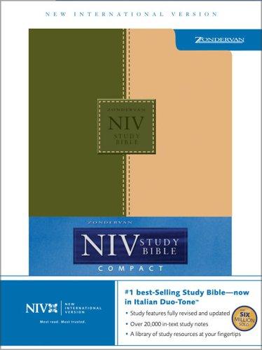 NIV Study Compact, LTD (New International Version)
