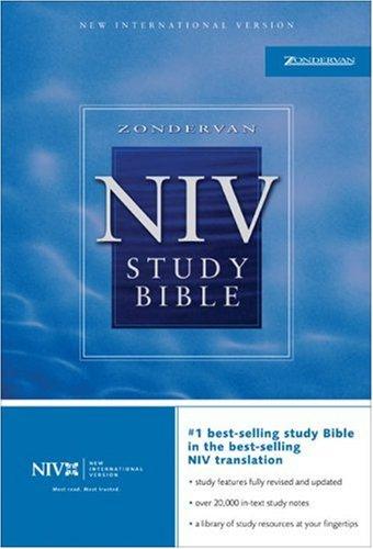 9780310929772: Zondervan NIV Study Bible, Indexed