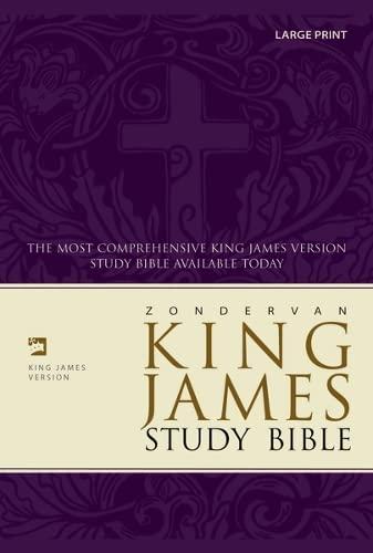9780310929901: Zondervan KJV Study Bible, Large Print