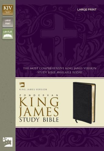 9780310929918: Zondervan KJV Study Bible, Large Print
