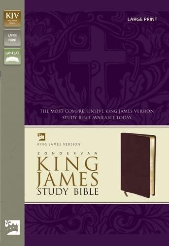9780310929925: Zondervan KJV Study Bible, Large Print