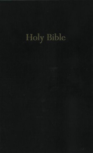 9780310930624: KJV, Pew Bible, Hardcover, Black (Black Pew Bible)