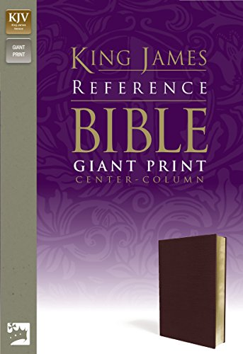 9780310931720: KJV, Reference Bible, Giant Print, Imitation Leather, Burgundy, Red Letter Edition