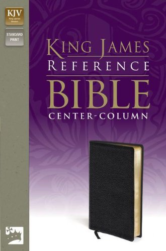 9780310931805: Holy Bible: King James Version Reference Bible  Black Premium Leather-Look