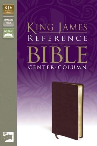 9780310931843: KJV, Reference Bible, Bonded Leather, Burgundy, Red Letter Edition