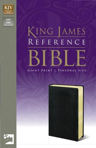 Personal Size Giant Print Holy Bible & Reference Imitation Leather, Black, Red Letter Edition