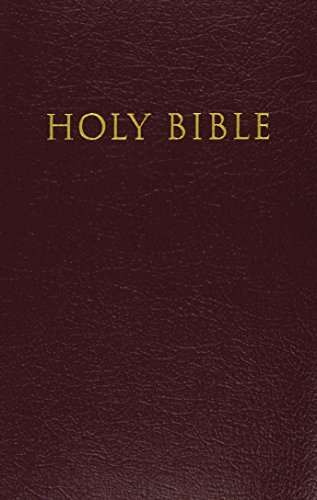 9780310931928: KJV, Reference Bible, Giant Print, Imitation Leather, Burgundy, Red Letter Edition